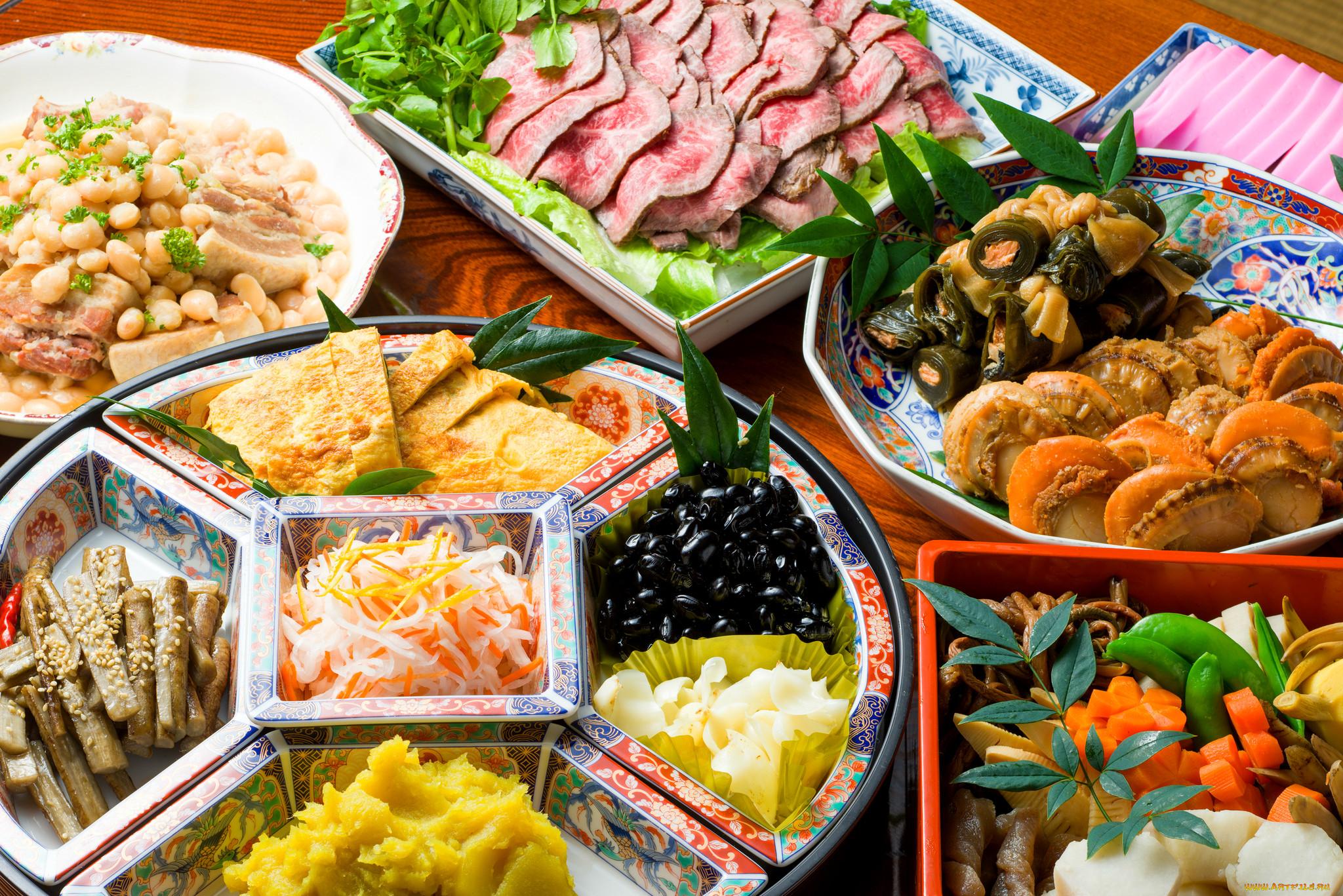 много разной еды картинки запросу салаты
